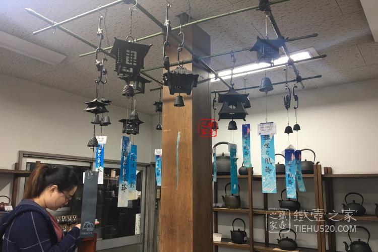风铃、摆件、镜子、锅、釜……