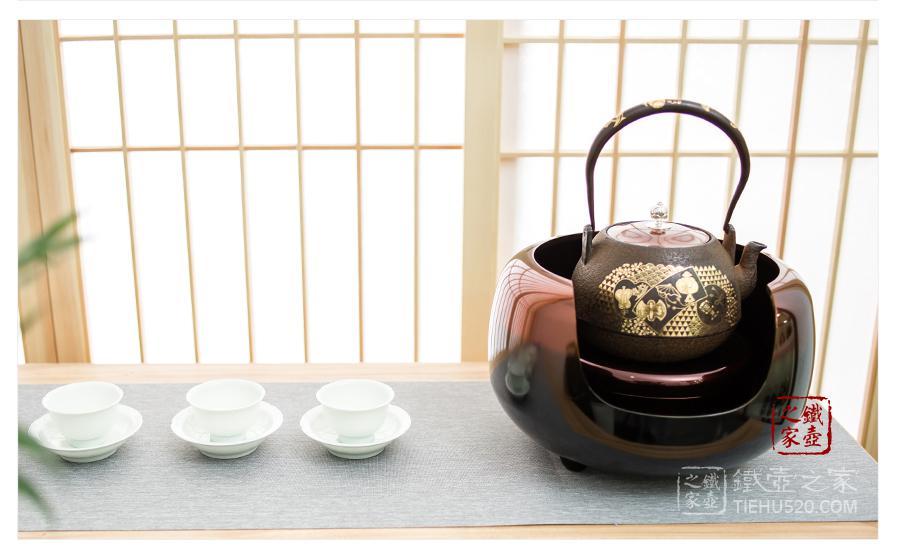 银壶加热,电陶炉
