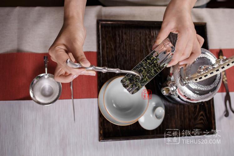 日本纯银茶具