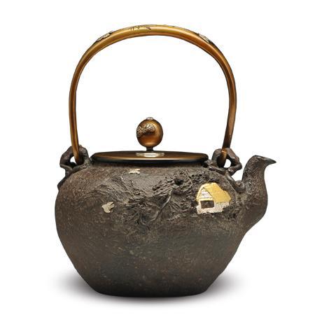 高陵金寿堂  家人物铁壶