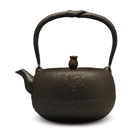岩户賢一郎  丸龙砂铸铁壶