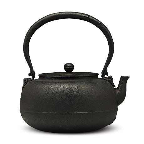 御釜屋 柚子型砂铸铁壶