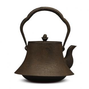 虎山工房  富士山水砂铸铁壶