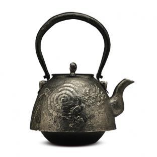 虎山工房 南部形龙砂铁壶