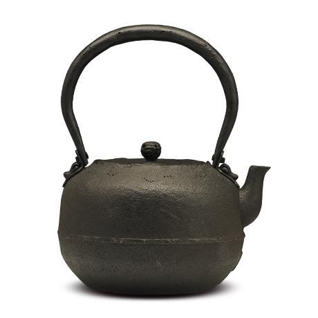御釜屋 姥口宝珠型砂铸铁壶