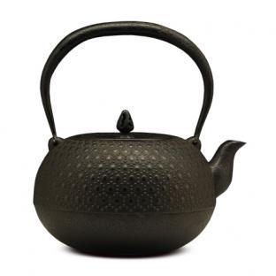 薰山工房 布团型龟甲铁壶