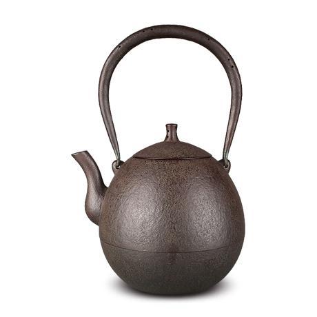 田山和康 蕾型中号砂铸铁壶
