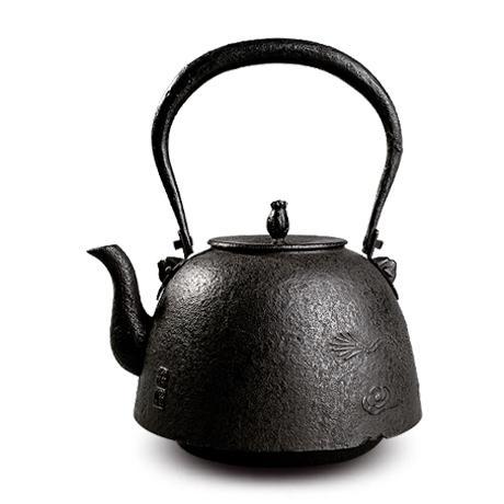 薰山工房 南部型云龙砂铸铁壶
